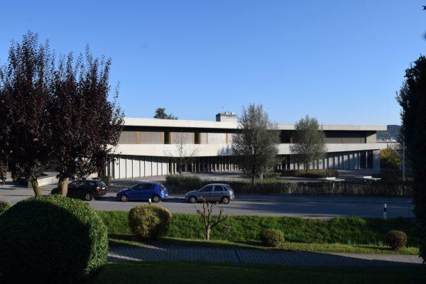 Gloor Gottardo Baumanagement Oberstufenszentrum Gossau Vorplatz